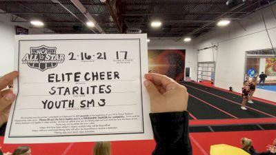 Elite Cheer - Starlites [L3 Youth - Small - B] 2021 NCA All-Star Virtual National Championship
