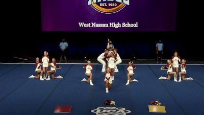 West Nassau High School [2021 Small Coed Non Tumbling Semis] 2021 UCA National High School Cheerleading Championship