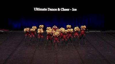 Ultimate Dance & Cheer - Ice [2021 Youth Pom - Large Semis] 2021 The Dance Summit
