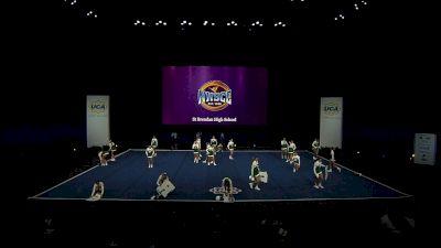St Brendan High School [2021 Large Varsity Division II Semis] 2021 UCA National High School Cheerleading Championship
