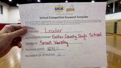 Baker County High School [Small Varsity] 2020 UCA North Florida Virtual Regional