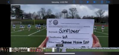 Shawnee Mission East High School [6A Game Day] 2020 KSHSAA Game Day Spirit Virtual Showcase