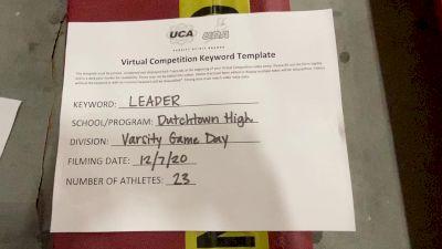 Dutchtown High School [Game Day Large Varsity] 2020 UCA Louisiana Virtual Regional