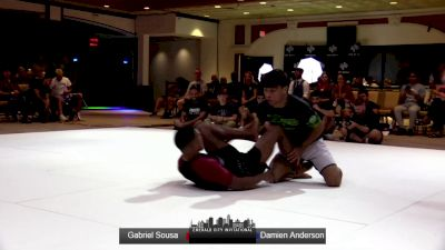 Gabriel Sousa vs Damien Anderson Emerald City Invitational Event #2