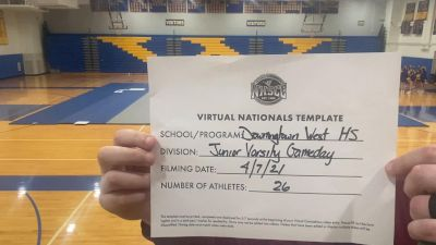 Downingtown West High School [Virtual Junior Varsity Game Day Semi Finals] 2021 UCA National High School Cheerleading Championship