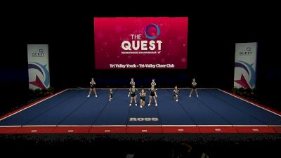 Tri Valley Youth - Tri-Valley Cheer Club [2021 L2 Performance Rec - 14Y (NON) - Small Semis] 2021 The Quest