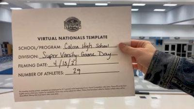 Calera High School [Virtual Super Varsity - Game Day Finals] 2021 UCA National High School Cheerleading Championship