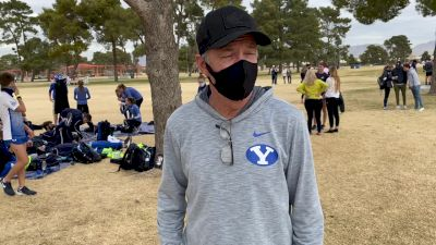 Ed Eyestone Happy With BYU's Effort, Needs To Close The Gap To The 5th Runner