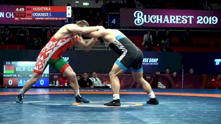 Aleksandr Hushtyn (BLR) vs Elizbar Odikadze (GEO)