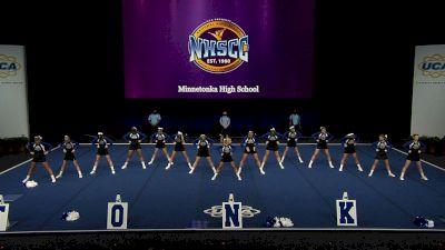 Minnetonka High School [2021 Small Non Tumbling Semis] 2021 UCA National High School Cheerleading Championship