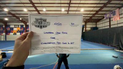 Louisiana Cheer Force - Slate [L6 International Open Coed - NT] 2021 NCA All-Star Virtual National Championship
