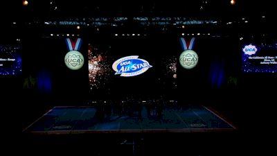 The California All Stars - Mesa - Rouge [2021 L4.2 Senior Coed Day 1] 2021 UCA International All Star Championship