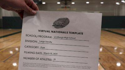 Lindbergh High School [Virtual Large Varsity - Pom Finals] 2021 UDA National Dance Team Championship