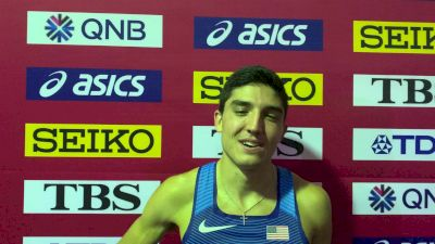 Bryce Hoppel Thrilled To Make It Three U.S. Men In 800m Final