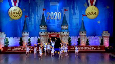 Hofstra University [2020 Division I Pom Semis] 2020 UCA & UDA College Nationals