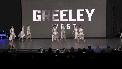 Greeley West Poms [2020 Small Varsity Jazz Prelims] 2020 NDA High School Nationals
