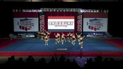 Salisbury University [2019 Intermediate All-Girl Division III Finals] 2019 NCA & NDA Collegiate Cheer and Dance Championship
