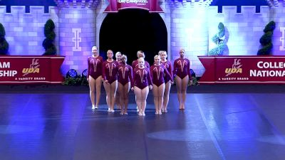 Worcester State University [2019 Open Jazz Semis] UCA & UDA College Cheerleading and Dance Team National Championship