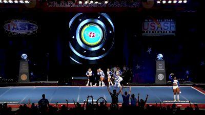 Twist & Shout - Tulsa - Diamonds [2019 L5 Senior X-Small Coed Semis] 2019 The Cheerleading Worlds