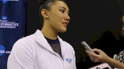 Interview: Kyla Ross, UCLA - 2019 NCAA Championships
