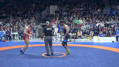 86 kg MFS Quarterfinal, Hasan Yazdanicharati, IRI vs Ruslan Abdulaev, RUS