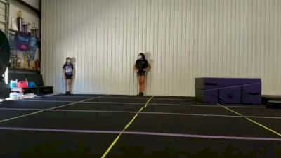 Stella Edwards - Running Tumbling (Substituted Skill) [Level 3 - Week 4] 2020 Varsity TV Level Legacy Challenge