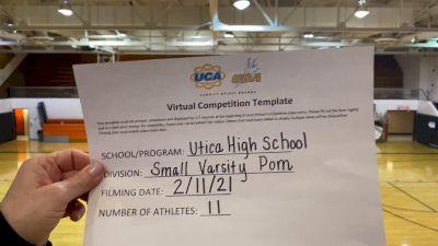 Utica High School [Small Varsity - Pom] 2021 UDA Spirit of the Midwest Virtual Challenge