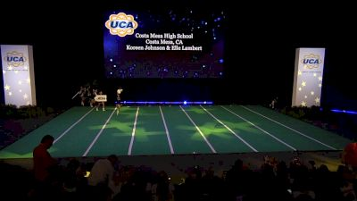 Costa Mesa High School [2020 Small Non Tumbling Game Day Finals] 2020 UCA National High School Cheerleading Championship