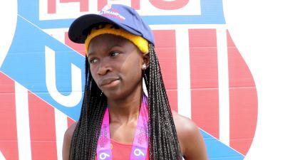 Cha'Iel Johnson completes 400, 800, 1500 Triple