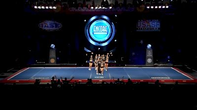 San Antonio Spirit - Team Smoke [2019 L5 Senior X-Small Coed Semis] 2019 The Cheerleading Worlds