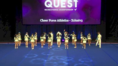 Cheer Force Athletics - Xclusiv3 [2020 L3 Performance Rec - Non-Affiliated (18Y - Small)] 2020 The Quest