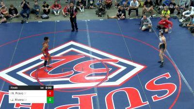 113 Final, Nico Provo, CT vs Jacob Rivera, CA