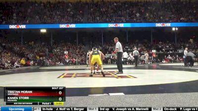 141 5th, Tristan Moran, Wisconsin vs Kanen Storr, Michigan