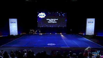 Milton High School [2019 Medium Varsity Non Tumbling Prelims] 2019 UCA National High School Cheerleading Championship