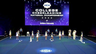 Hofstra University [2020 Small Coed Division I Semis] 2020 UCA & UDA College Nationals