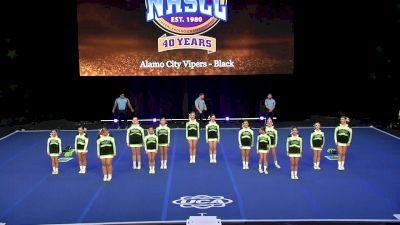 Alamo City Vipers - Black [2020 Senior Club Semis] 2020 UCA National High School Cheerleading Championship