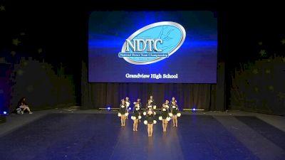 Grandview High School [2020 Small Pom Semis] 2020 UDA National Dance Team Championship