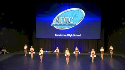 Ponderosa High School [2020 Small Pom Semis] 2020 UDA National Dance Team Championship