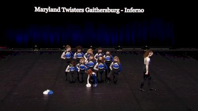 Maryland Twisters Gaithersburg - Inferno [2021 Youth Pom - Small Semis] 2021 The Dance Summit