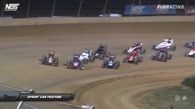 Sprint Car Highlights   IMW at Lawrenceburg Speedway