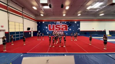 Usa Starz - Shine [L2 Youth - Medium] 2021 Varsity All Star Winter Virtual Competition Series: Event II