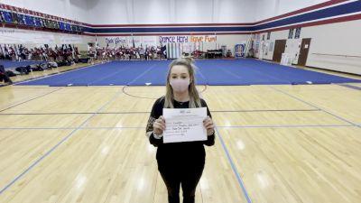 Tompkins High School [Game Day Varsity] 2020 UCA Southwest Virtual Regional
