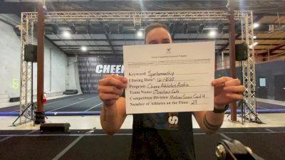 Cheer Athletics - Austin - ObsidianCats [Level 4 L4 Senior Coed - Medium] Varsity All Star Virtual Competition Series: Event VI
