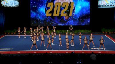 Champion Cheer - Heat [2021 L6 Senior Open Finals] 2021 The Cheerleading Worlds