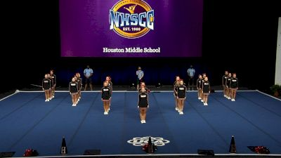 Houston Middle School [2021 Large Junior High Finals] 2021 UCA National High School Cheerleading Championship