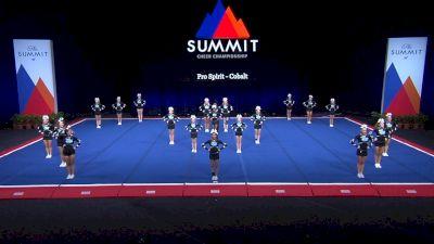 Pro Spirit - Cobalt [2021 L4 U17 Coed Prelims] 2021 The Summit