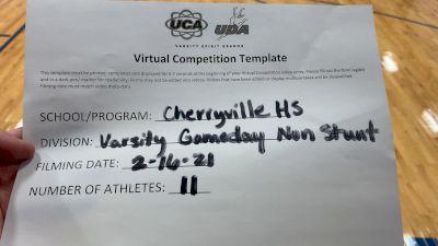 Cherryville High School [Game Day Varsity NonBuilding] 2021 UCA February Virtual Challenge