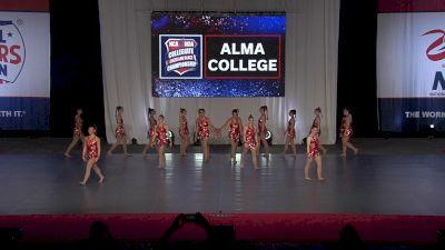 Alma College [2021 Team Performance Division III Finals] 2021 NCA & NDA Collegiate Cheer & Dance Championship