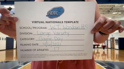W.T. Woodson High School [Large Varsity - Game Day] 2021 UDA National Dance Team Championship