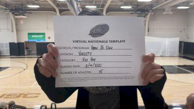 Upper St Clair High School [Large Varsity - Hip Hop Virtual Finals] 2021 UDA National Dance Team Championship